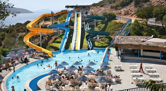 Aquapark Turkije - Bodrum Holiday Resort
