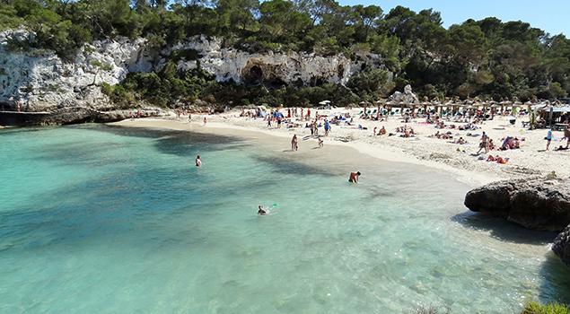 Mooiste stranden Mallorca - Cala Llombards