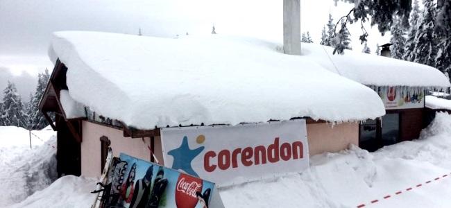 Corendon skien Bulgarije