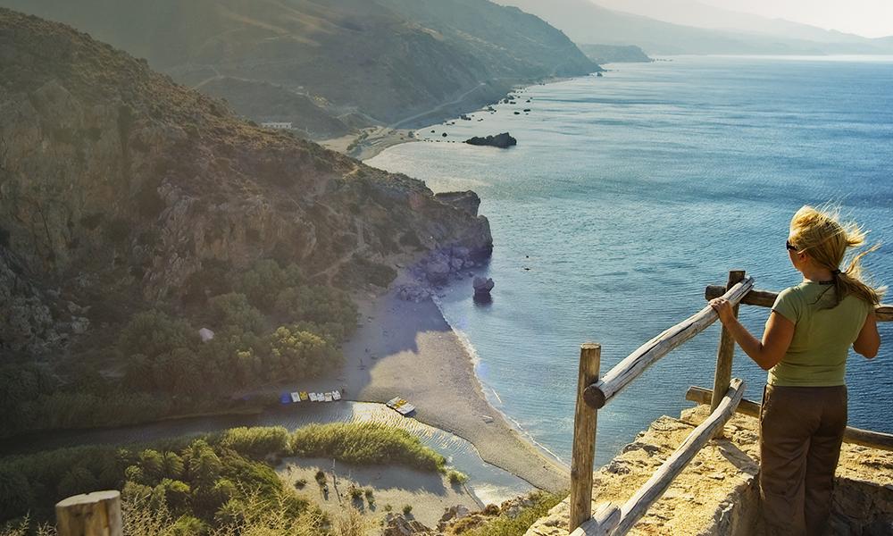 Bezienswaardigheden Kreta - Preveli Beach