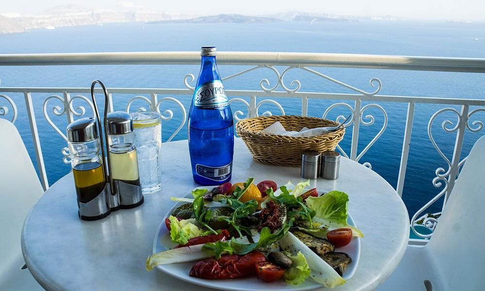 Op huwelijksreis in Griekenland
