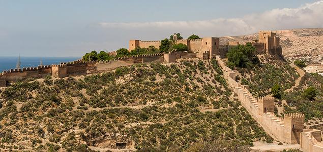 Bezienswaardigheden in Andalusië - Alcazaba