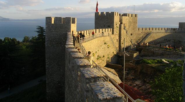 Meer van Ohrid bezienswaardigheden - Fort van Samuel