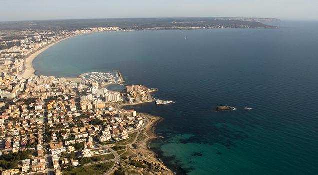 Fietsen op Mallorca - El Arenal