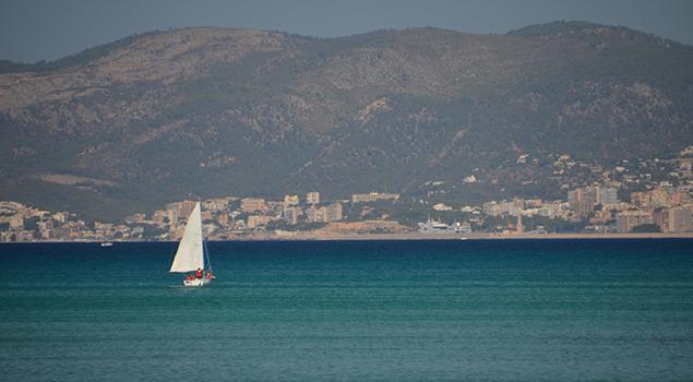 Fietsen op Mallorca - Palma Bay