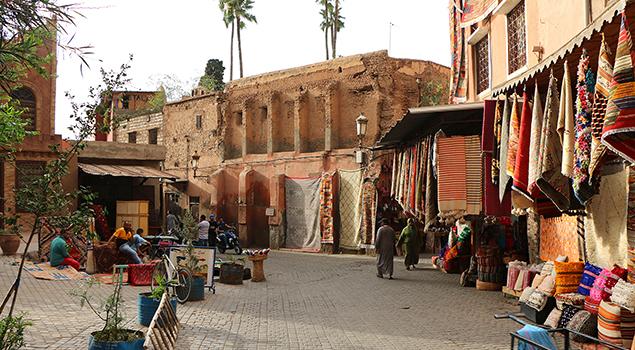 Marrakech - Mooi weer in oktober