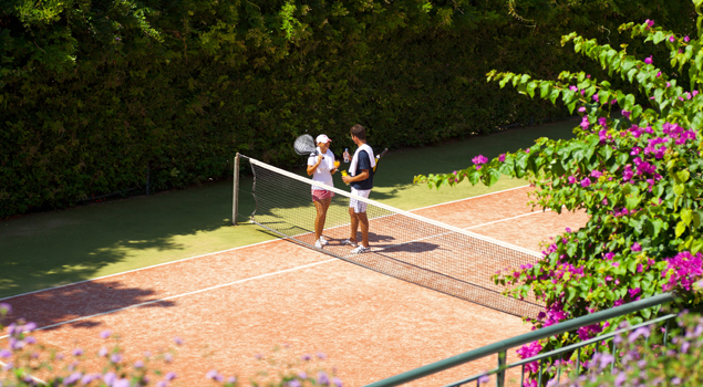 club-paradiso-turkije-tennisbaan