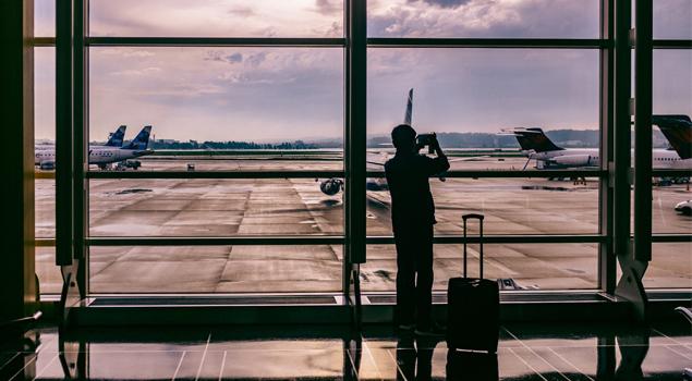Op het Vliegveld