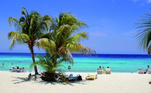 strand op Curacao
