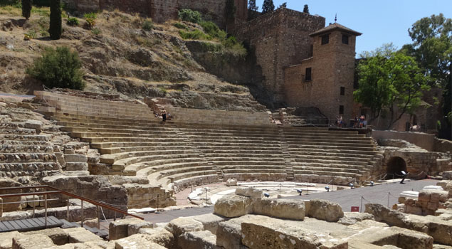 Romeins Theater in Málaga