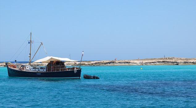 Boottocht op Ibiza