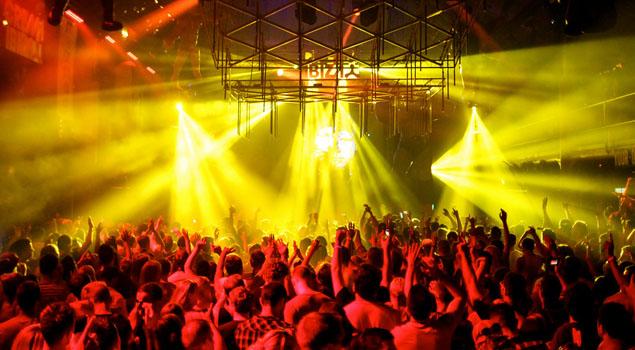 Club op Ibiza