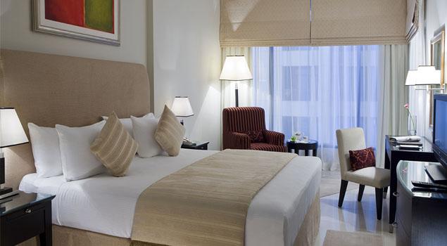 hotelkamer van Yassat Gloria