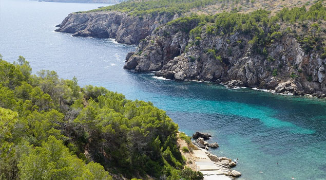 Strand van Ibiza