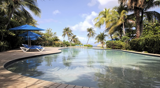 Zwembad Hilton Curacao