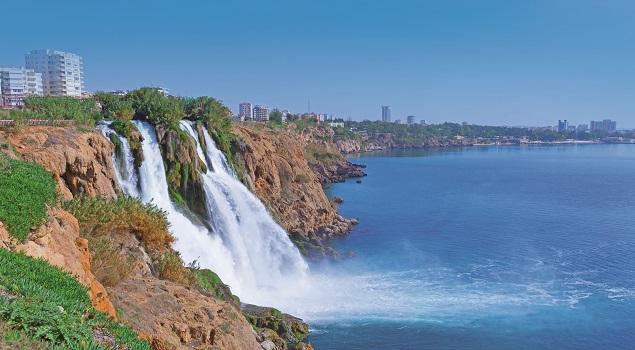 Watervallen Antalya