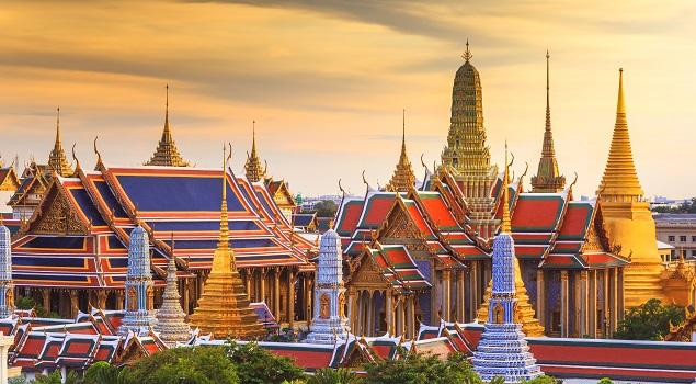 Wat Phra Kaew en Grand Palace