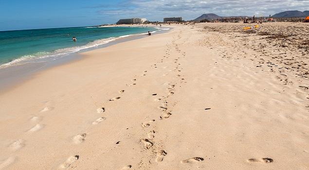 Corralejo strand