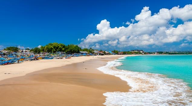 Het paradijselijke Jimbaran Beach