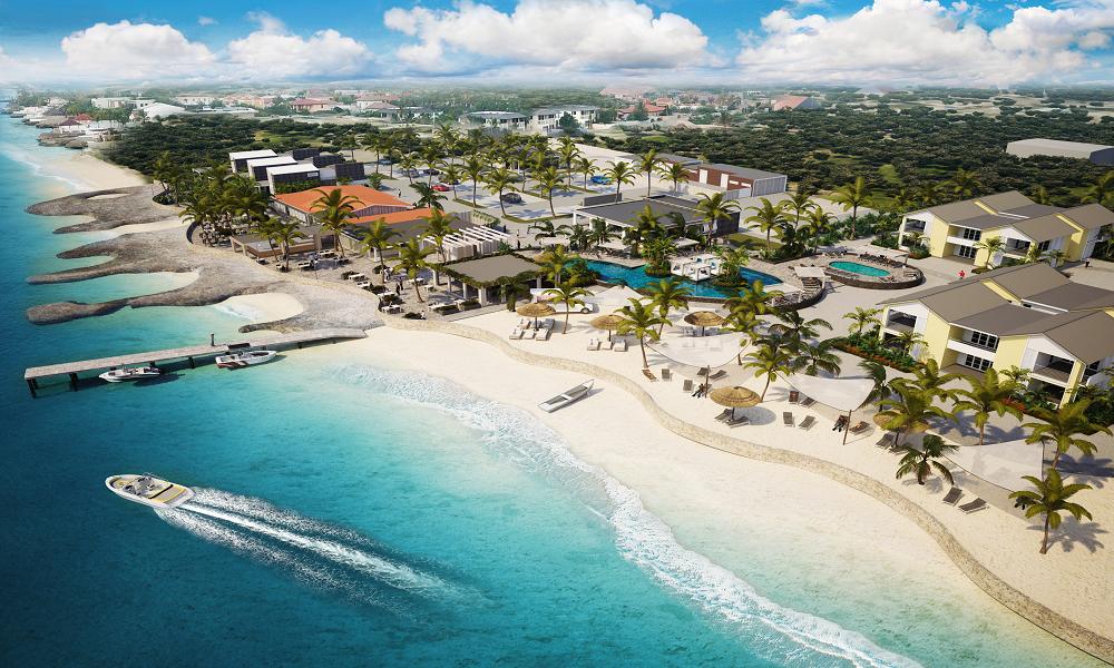 Delfins Beach Resort op Bonaire
