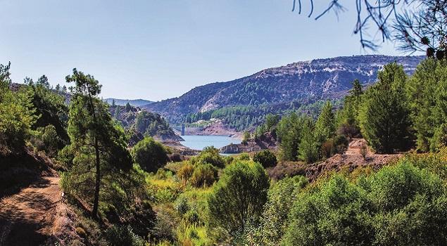 Cyprus landschap