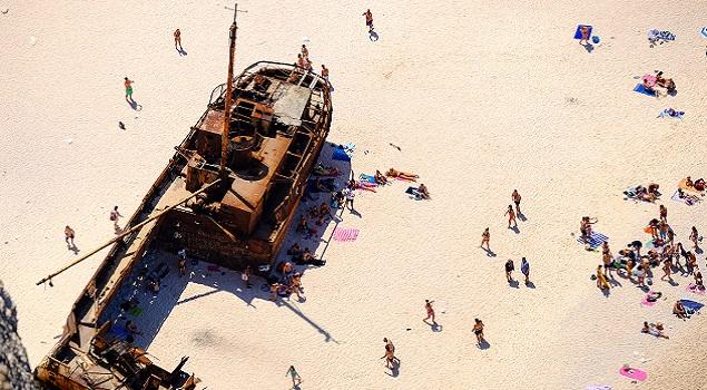 Scheepswrak Navagio Beach