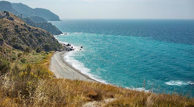 Playa de las Arbequillas - Malaga
